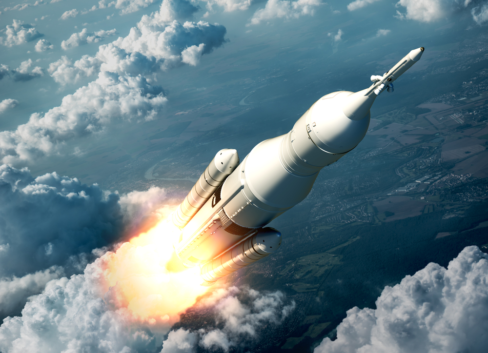Alaunched rocket