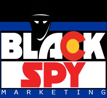 BlackSpy marketing logo