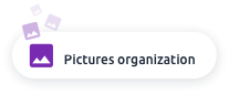 Pictures Organization Button