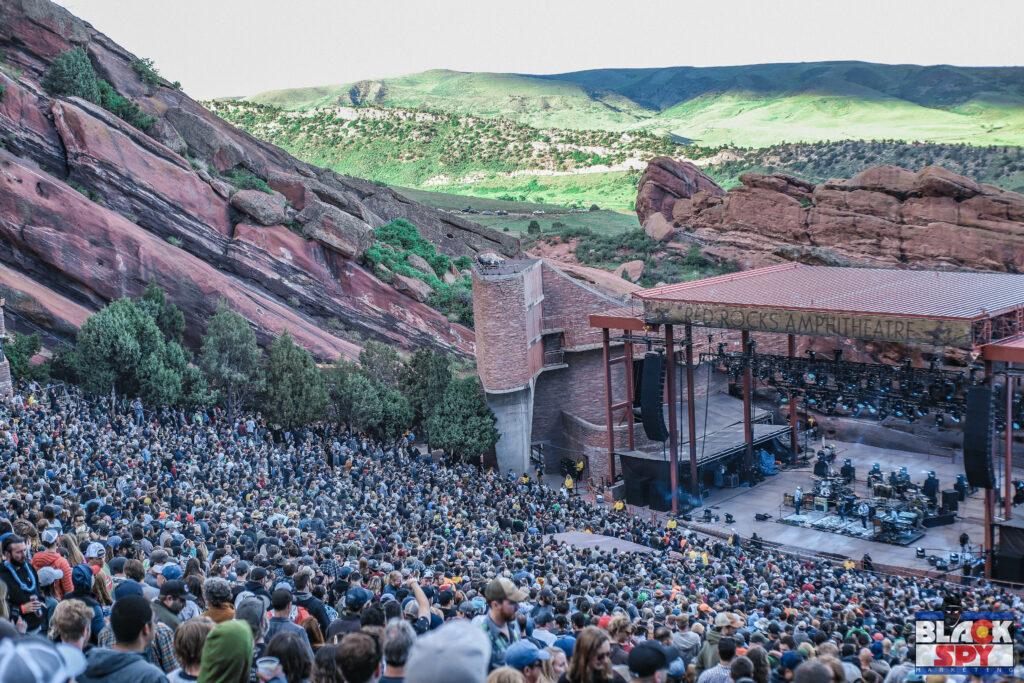 BlackSpy Promotes Concerts at Red Rocks