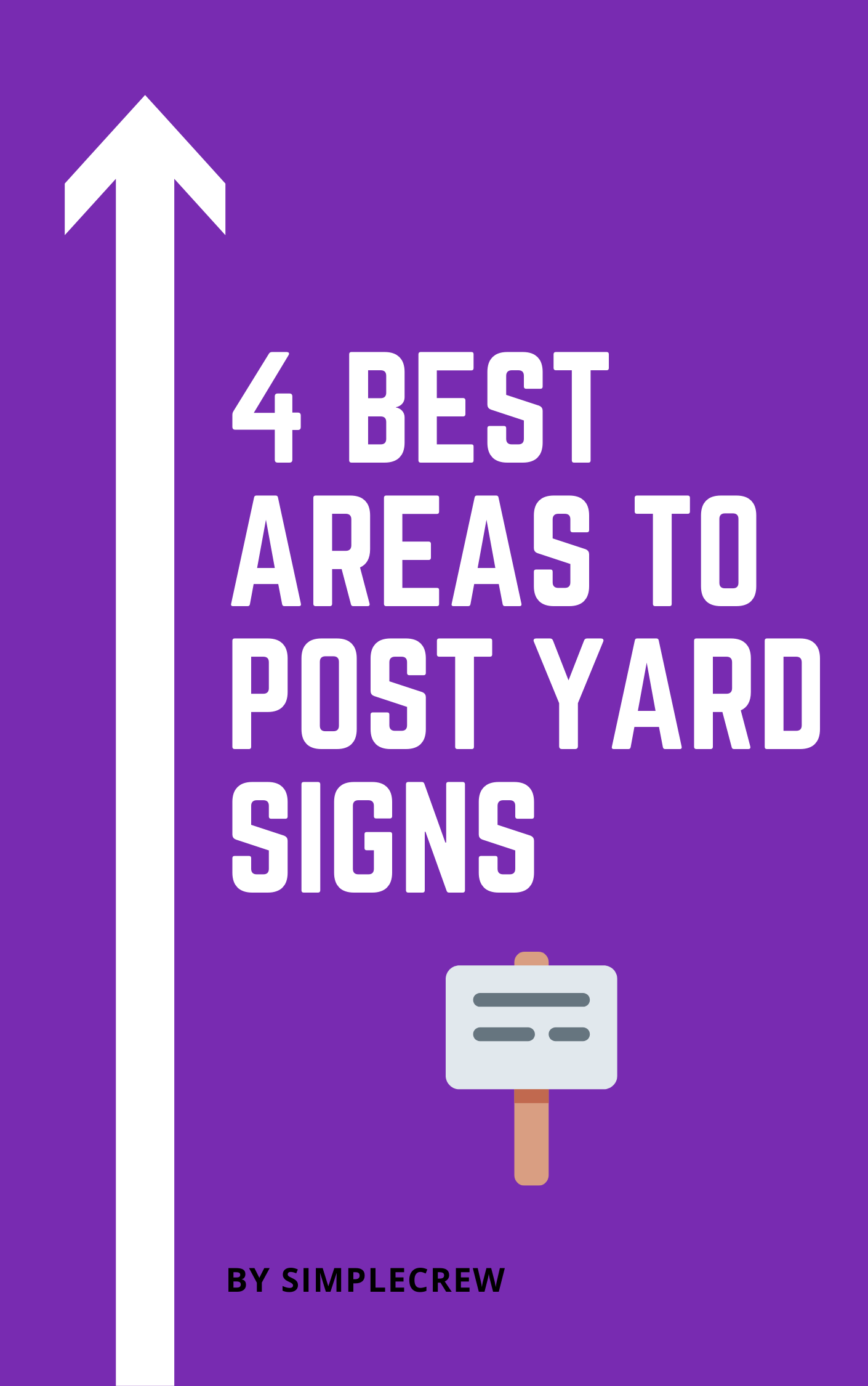 4 best areas to post yard signs cover