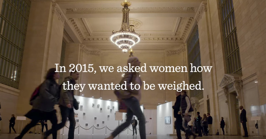 'In 2015, we asked women how they wanted to be weighed'