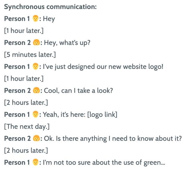 Conversation screenshot