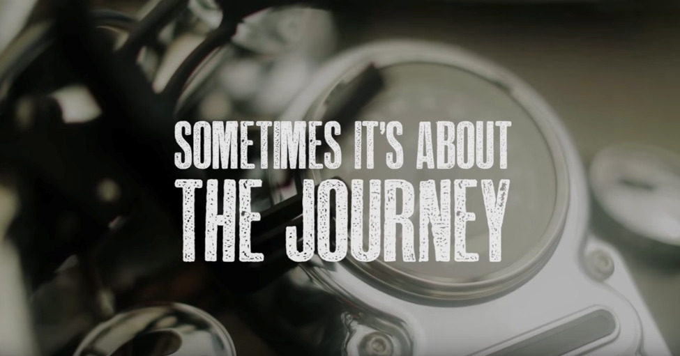 Sometimes it's about the journey