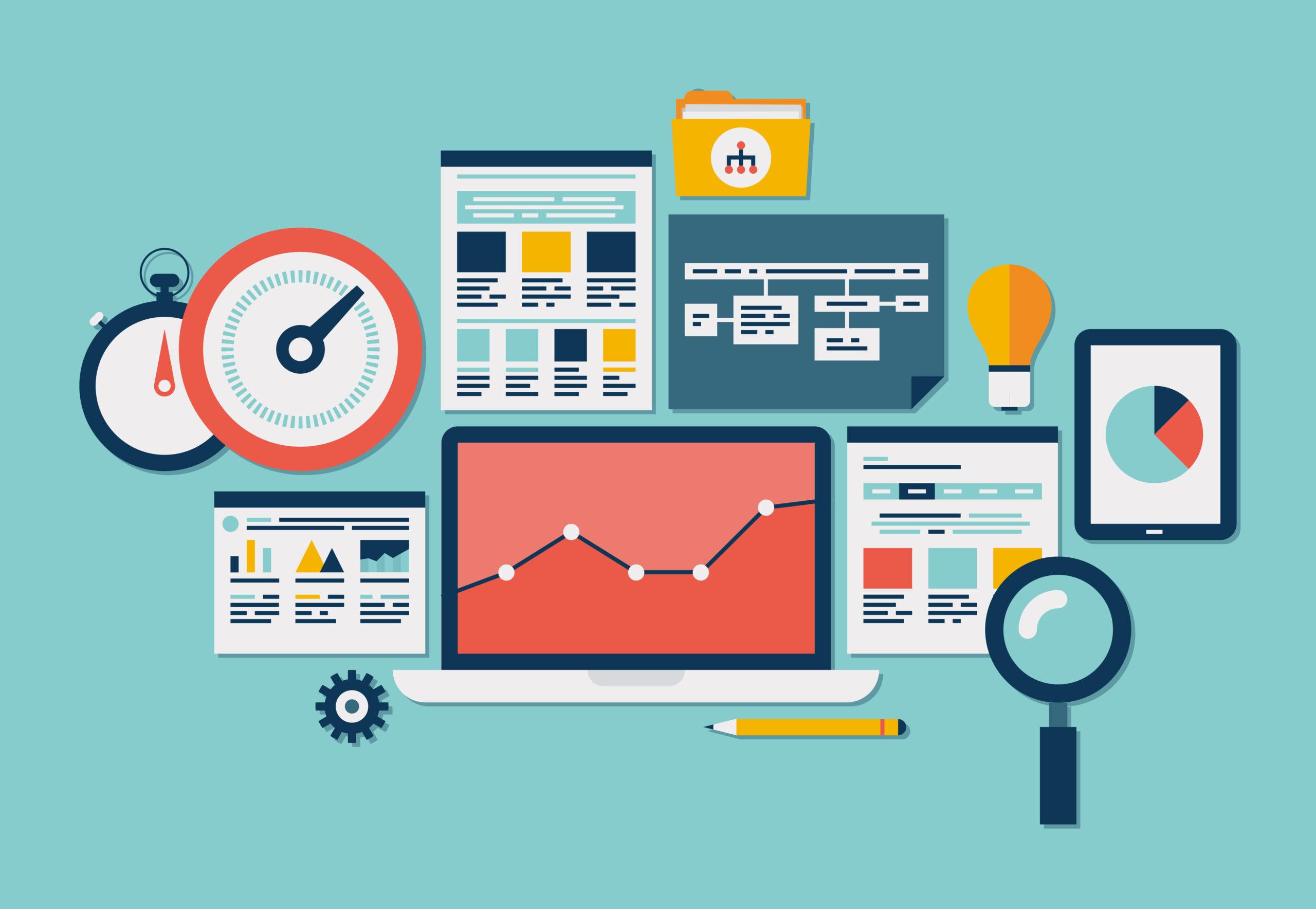 Blogpost visualization, the power of data in marketing